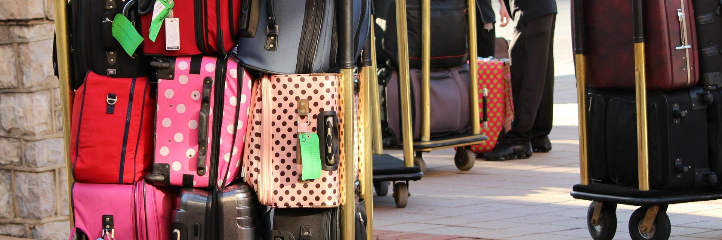 luggage bagaglio valigie come lavo